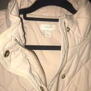 J. Crew Jackets & Coats - Quilted J. Crew Jacket- Cream